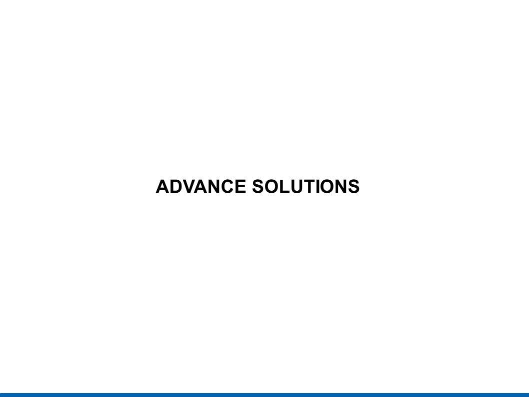 ADVANCE SOLUTIONS