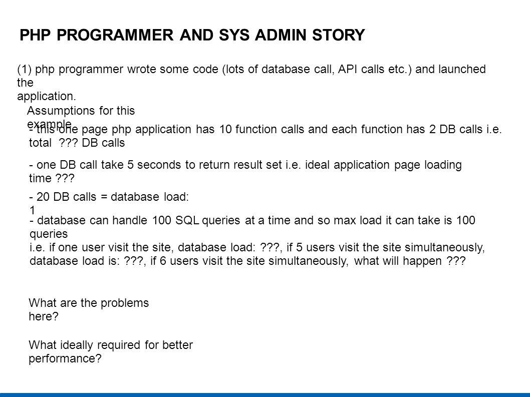 PHP PROGRAMMER AND SYS ADMIN STORY