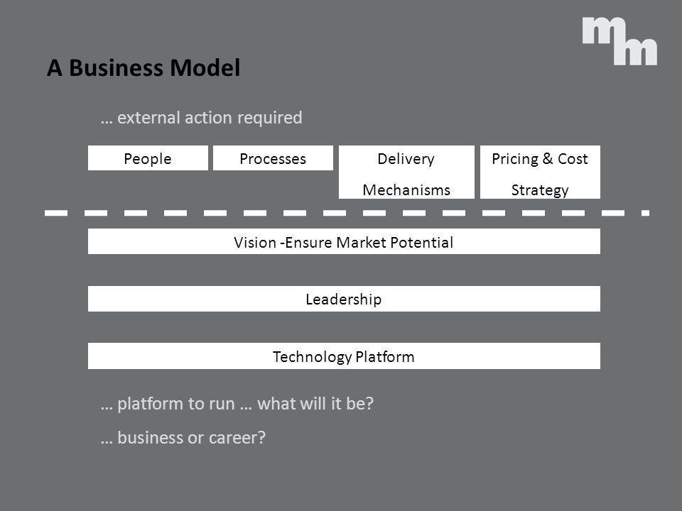 Vision -Ensure Market Potential