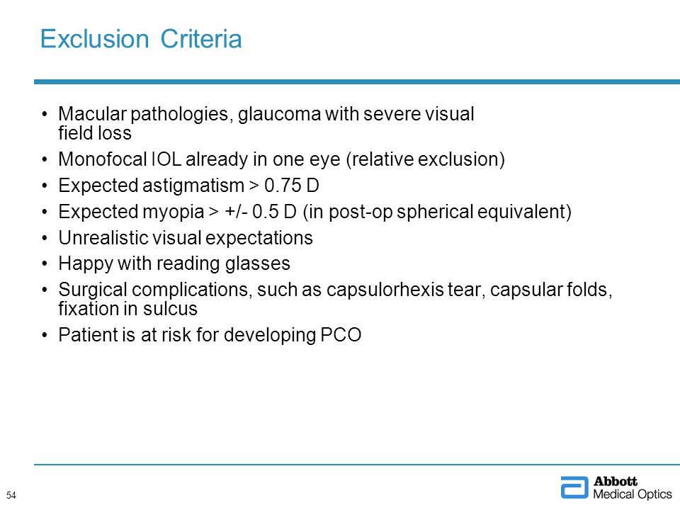 Tecnis Multifocal IOL Physician Presentation