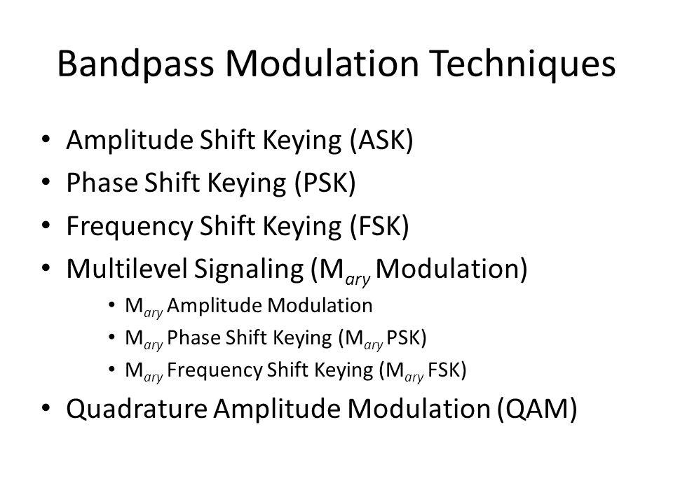 Bandpass Modulation Techniques