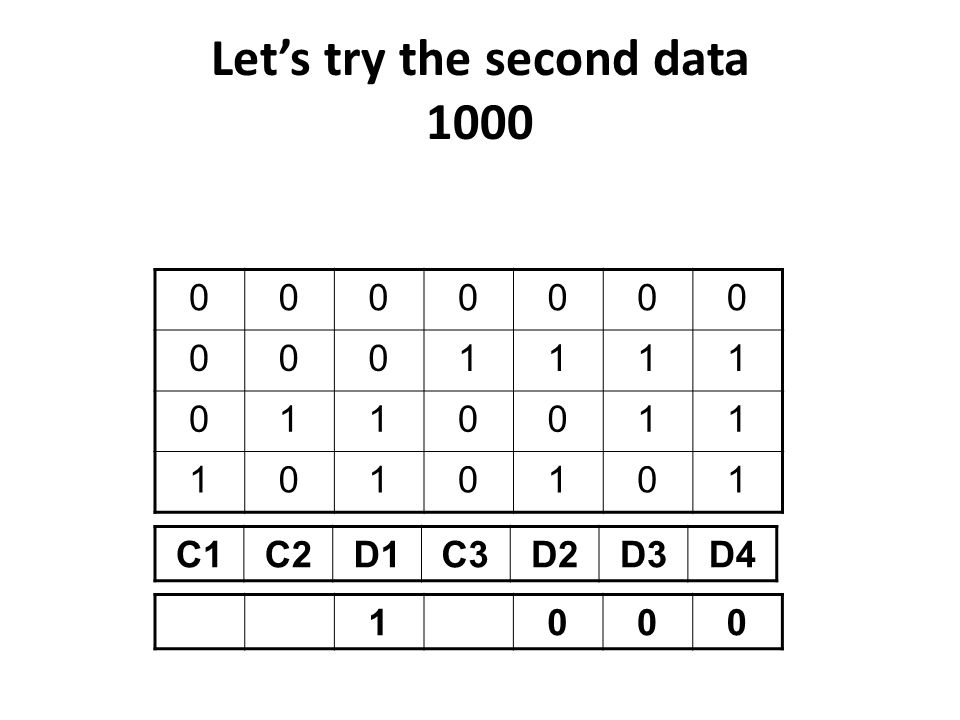 Let's try the second data 1000