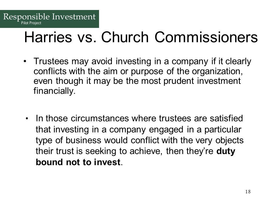 Harries vs. Church Commissioners