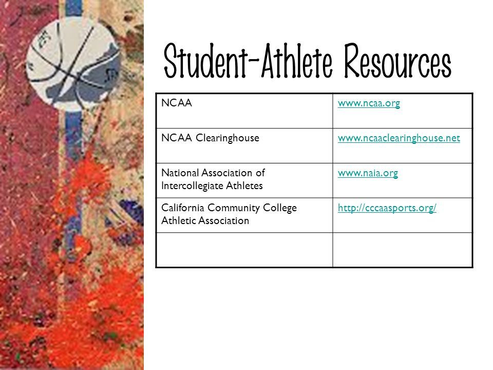 Student-Athlete Resources