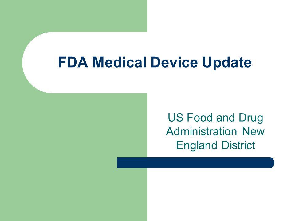 FDA Medical Device Update