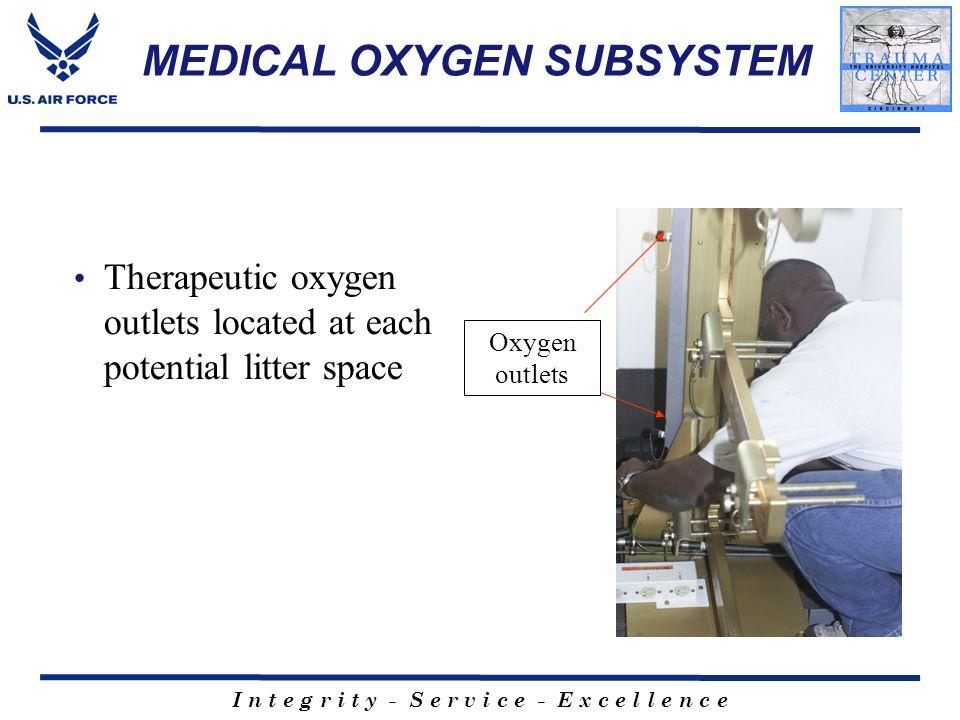 MEDICAL OXYGEN SUBSYSTEM