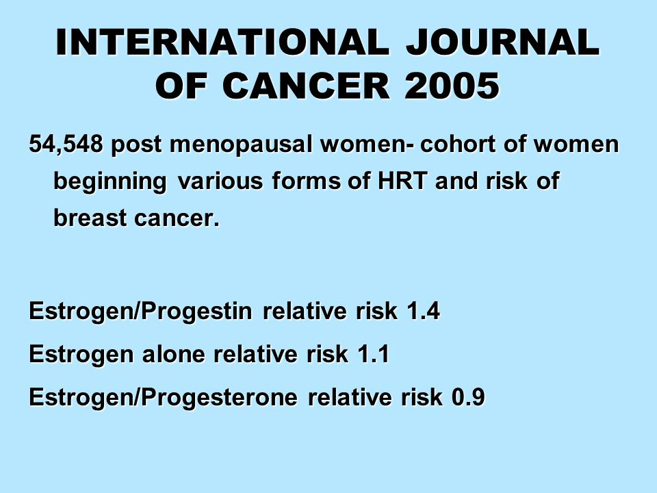 INTERNATIONAL JOURNAL OF CANCER 2005