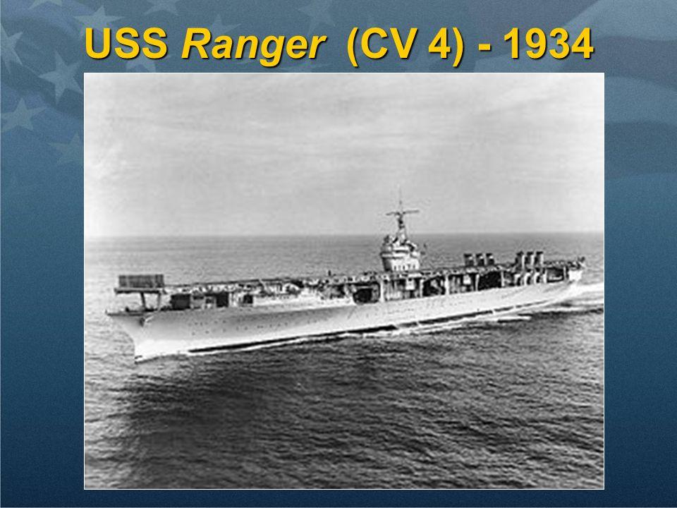 USS Ranger (CV 4) - 1934