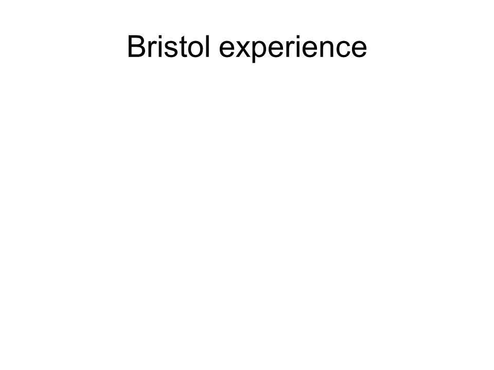 Bristol experience