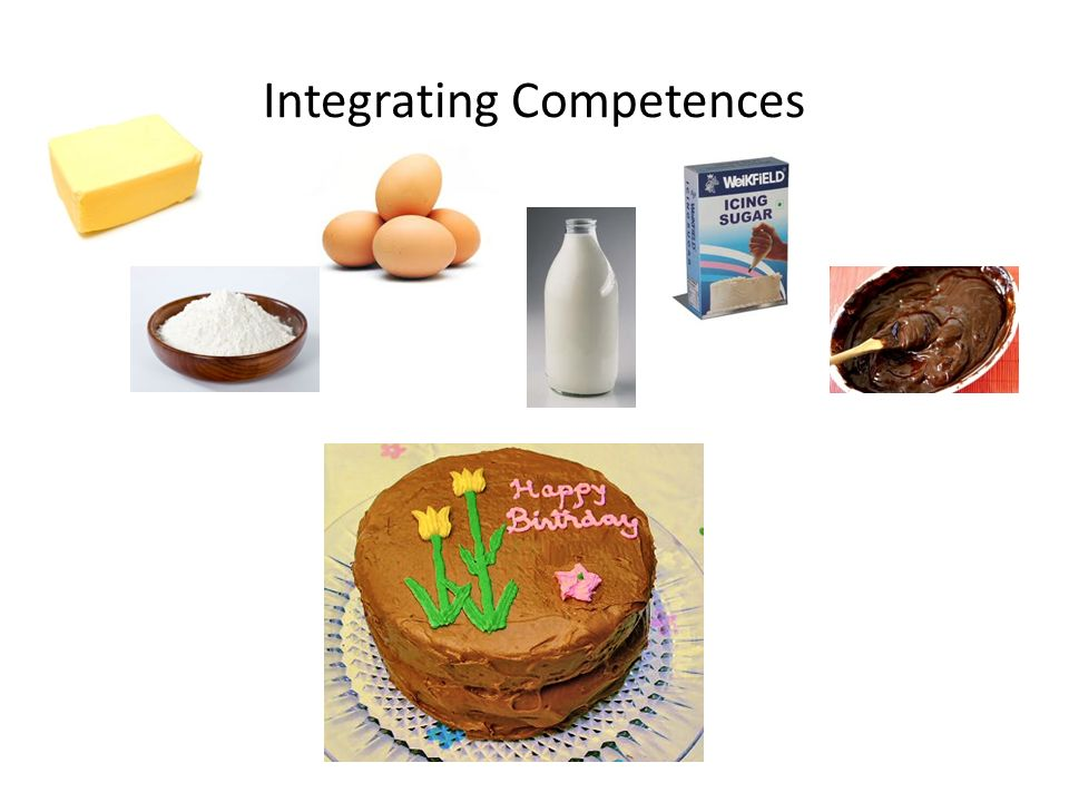Integrating Competences