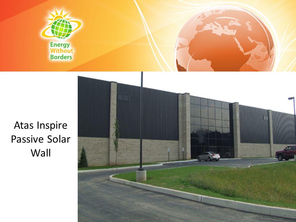 Atas Inspire Passive Solar Wall