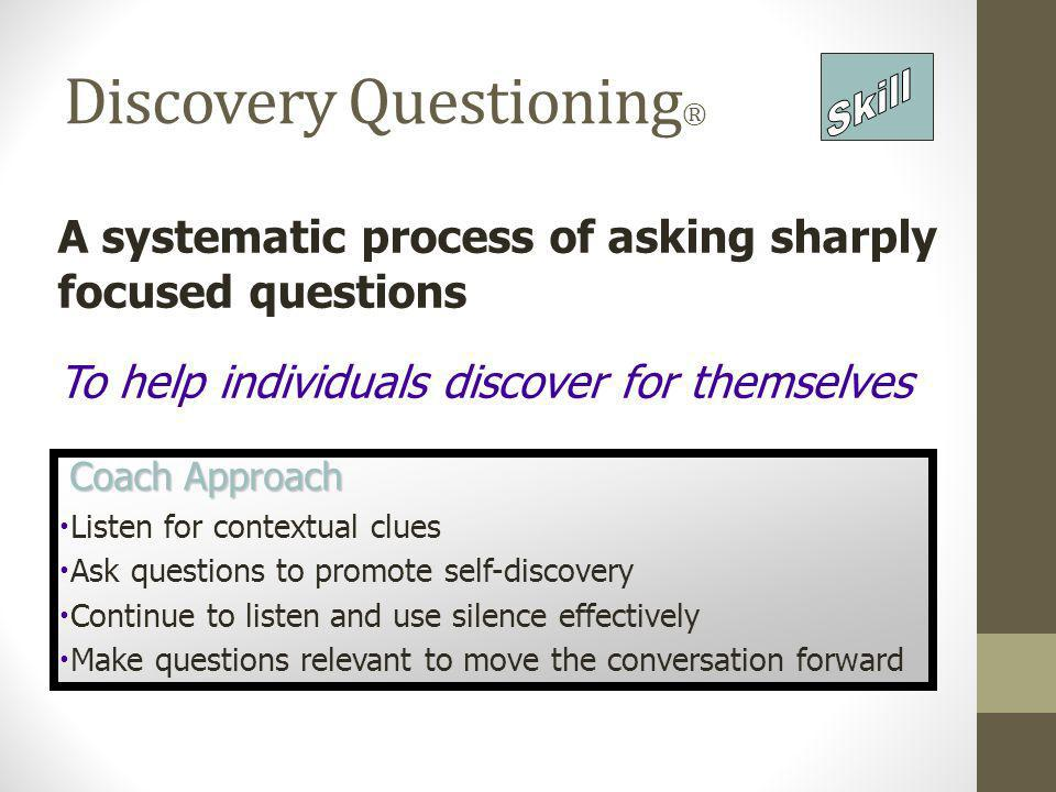 Discovery Questioning®
