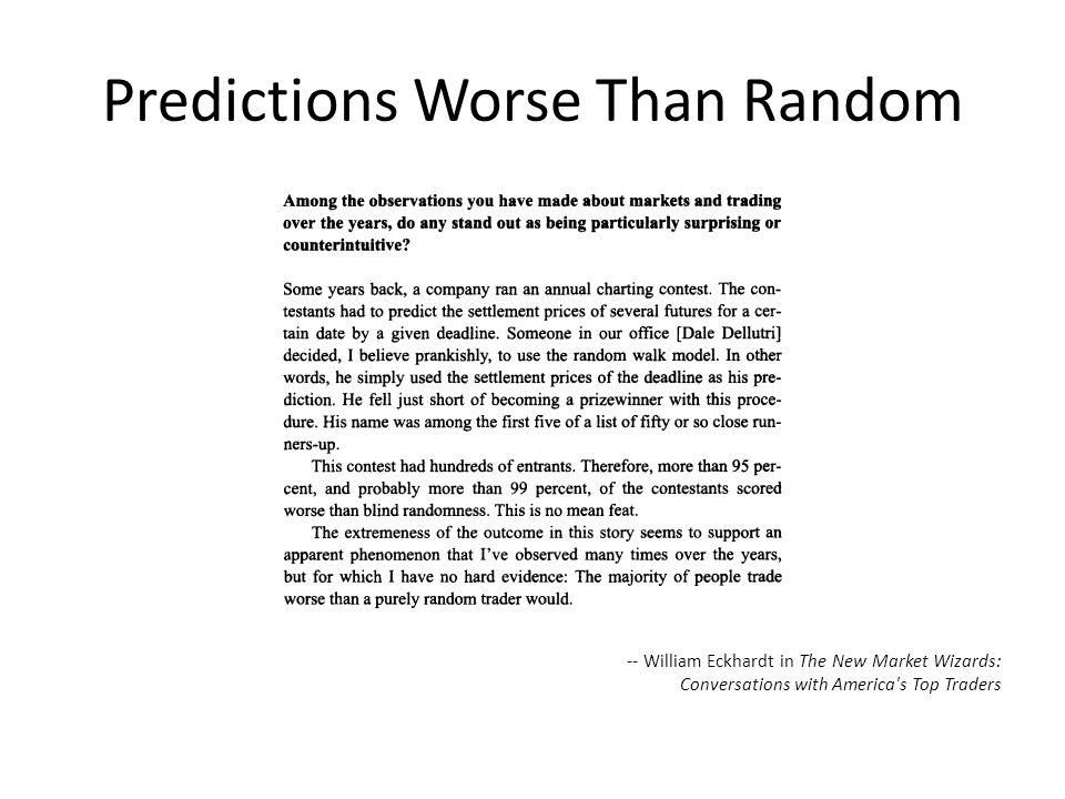 Predictions Worse Than Random