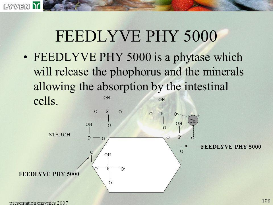 LYVEN FEEDLYVE PHY 5000.