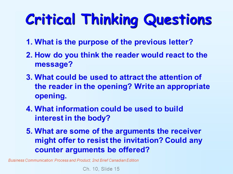 What Is the Connection between Communication and Critical Thinking?