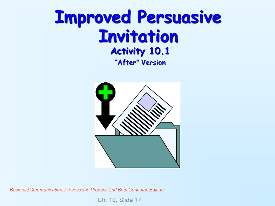 Improved Persuasive Invitation Activity 10.1 After Version