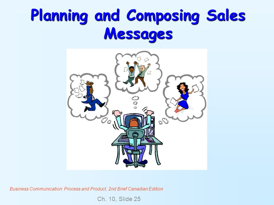 Planning and Composing Sales Messages