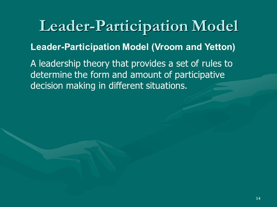 Leader-Participation Model