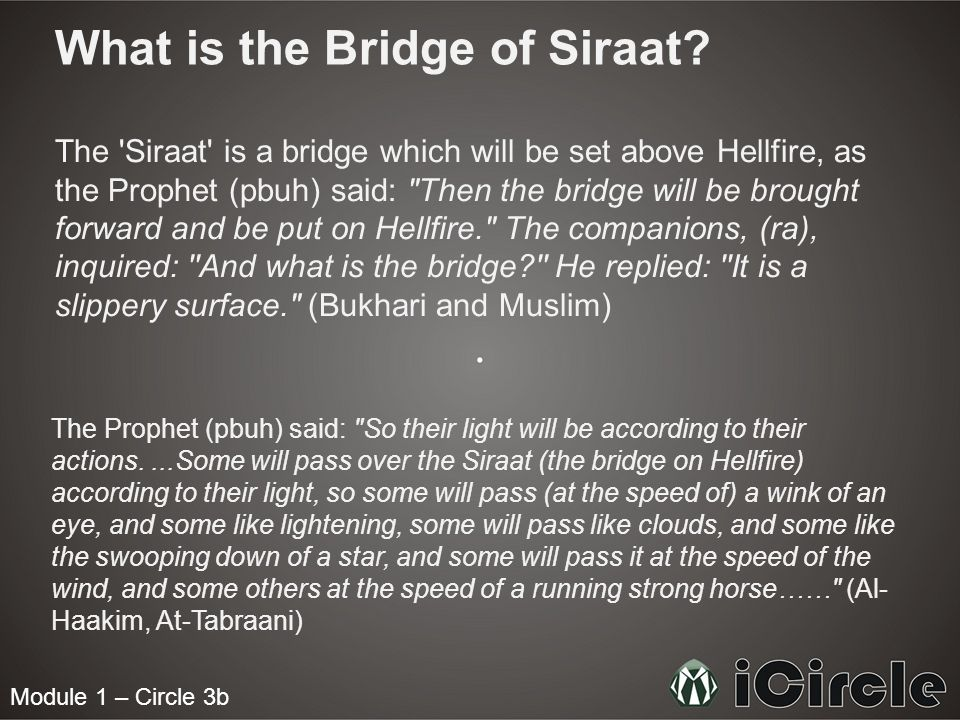 What is the Bridge of Siraat