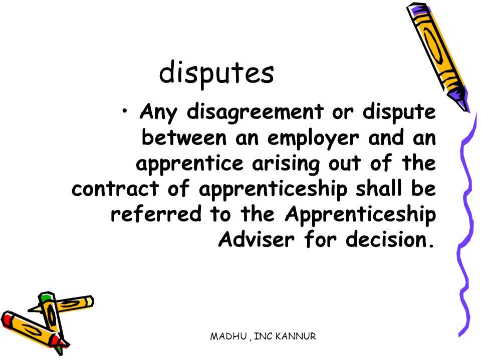 disputes
