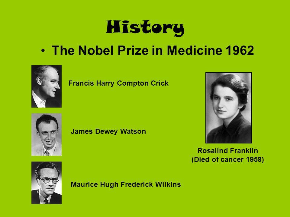 The Nobel Prize in Medicine 1962