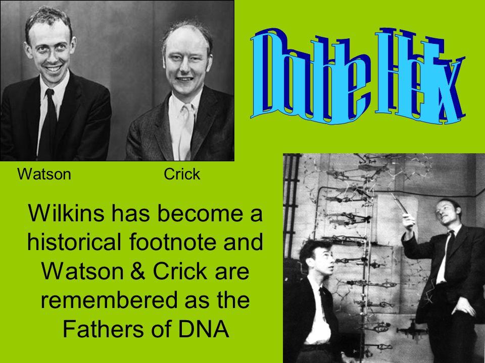 Double Helix Watson. Crick.