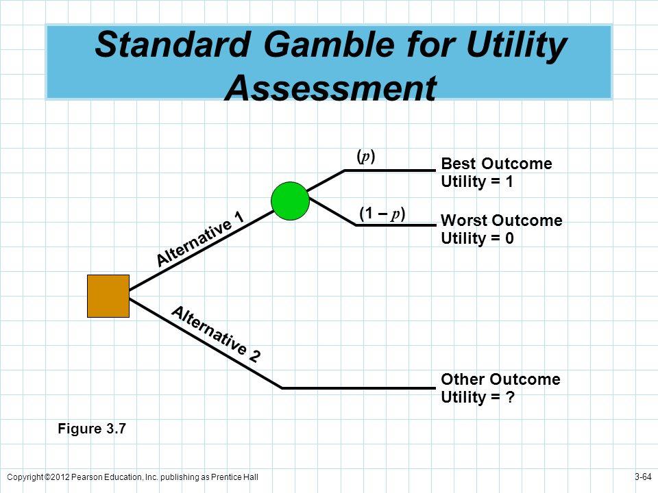Standard Gamble for Utility Assessment