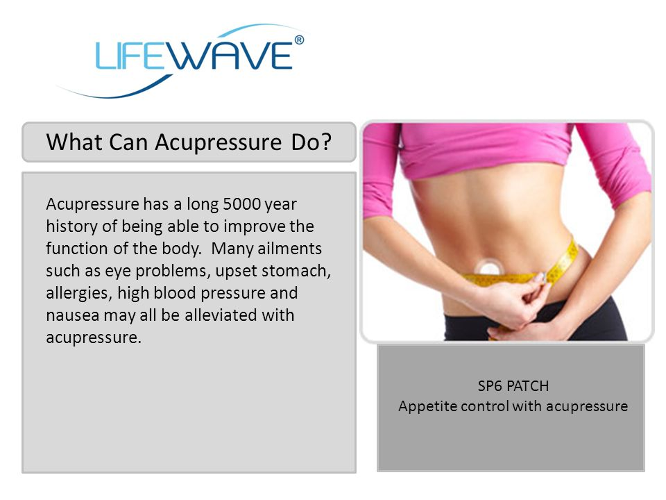 What Can Acupressure Do