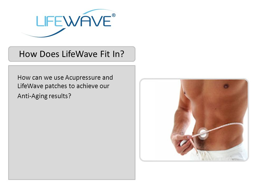 How Does LifeWave Fit In