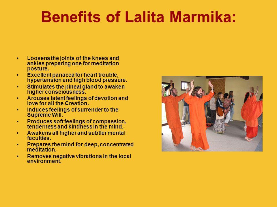 Benefits of Lalita Marmika: