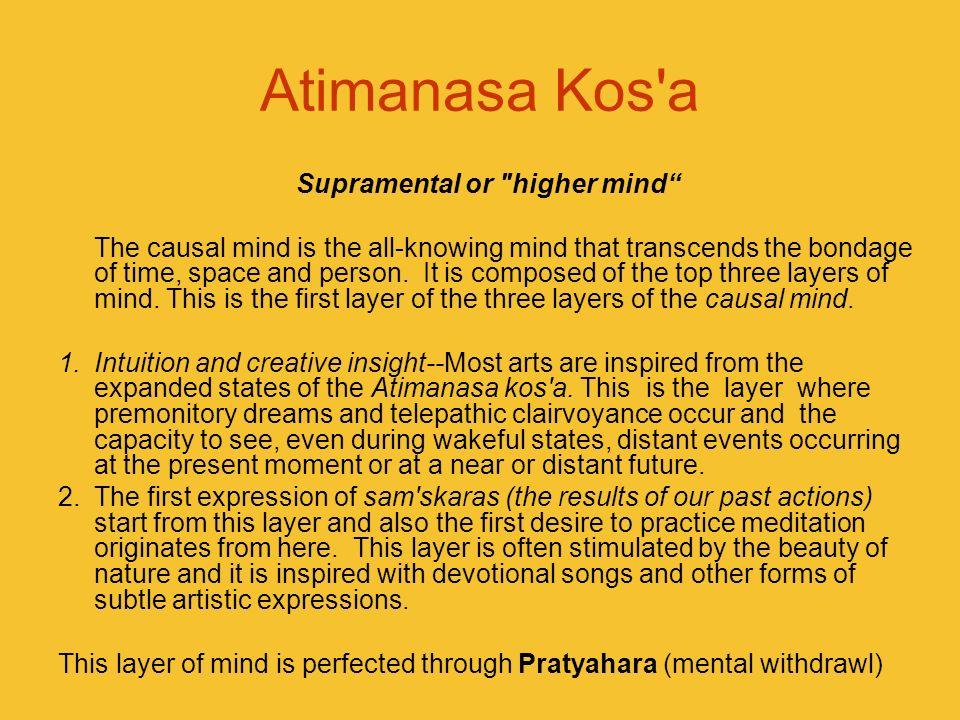 Supramental or higher mind