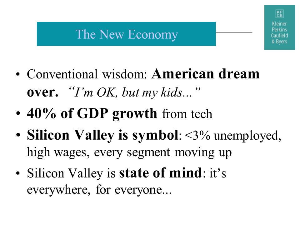 40% of GDP growth from tech