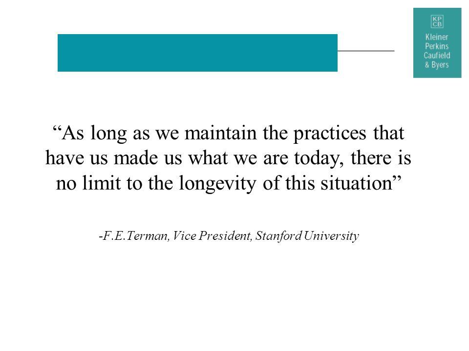 -F.E.Terman, Vice President, Stanford University