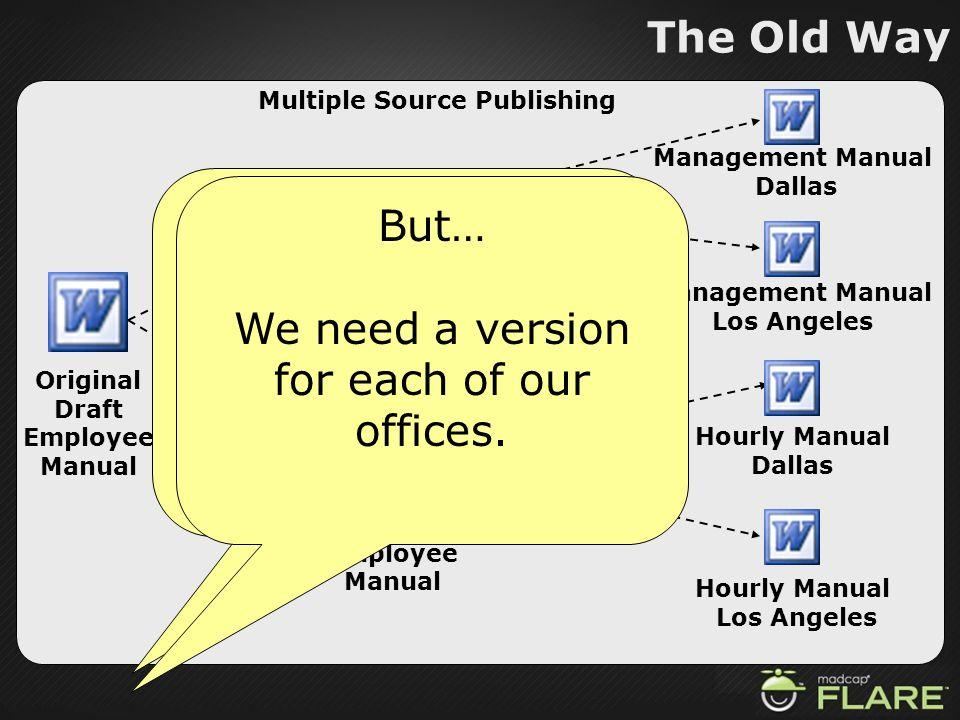 Management Employee Manual Hourly Employee Manual
