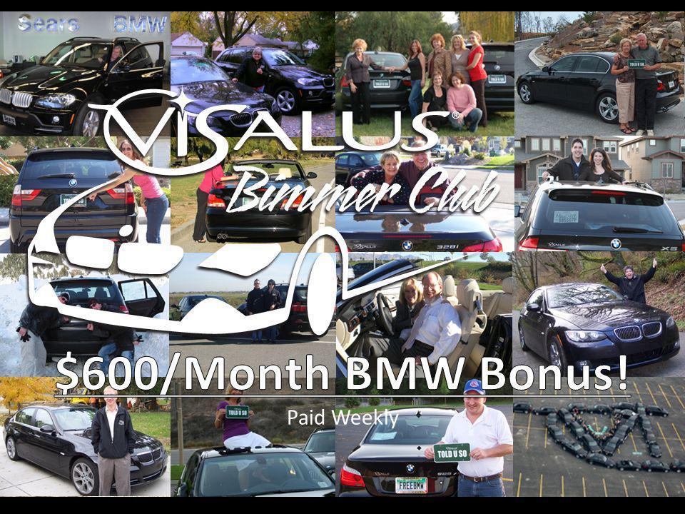 cs $600/Month BMW Bonus! Paid Weekly 9