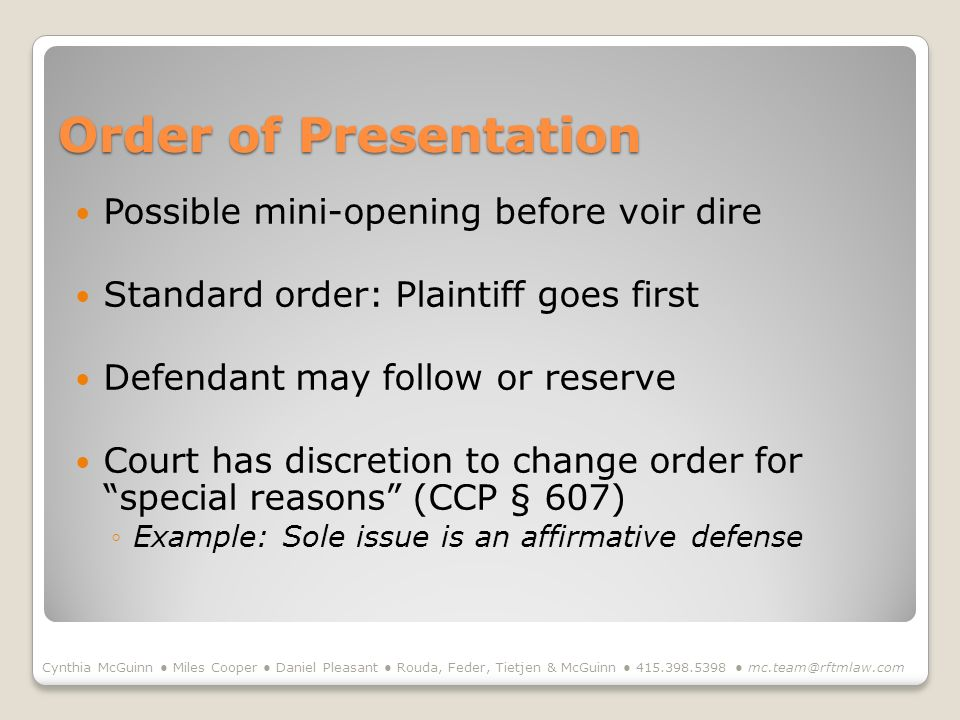from 100 days through opening statement course 3 opening statement ppt download