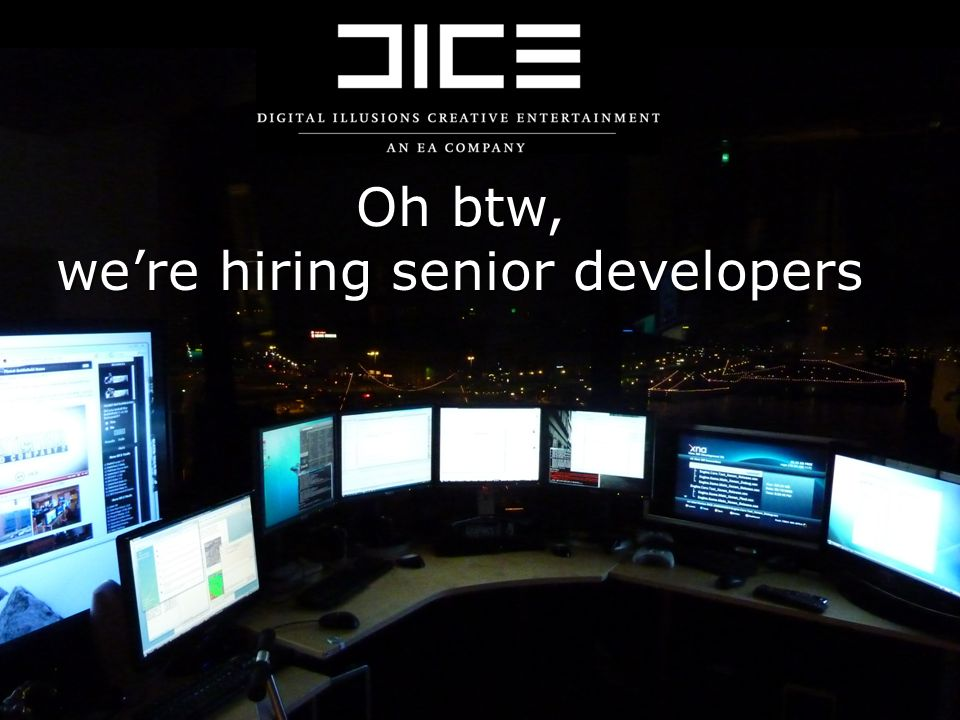 we're hiring senior developers