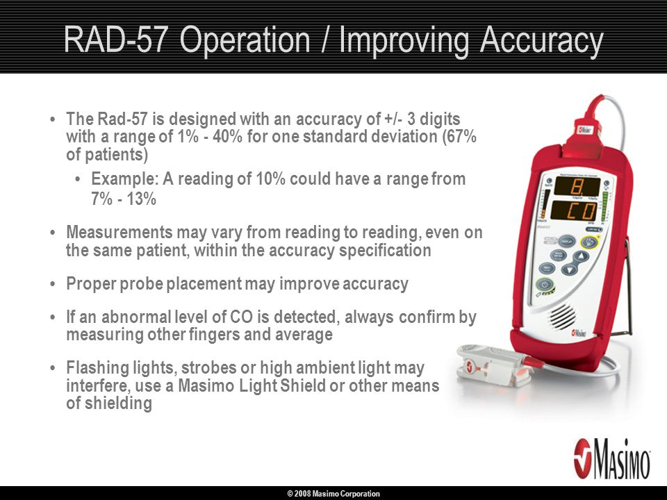 RAD-57 Operation / Improving Accuracy