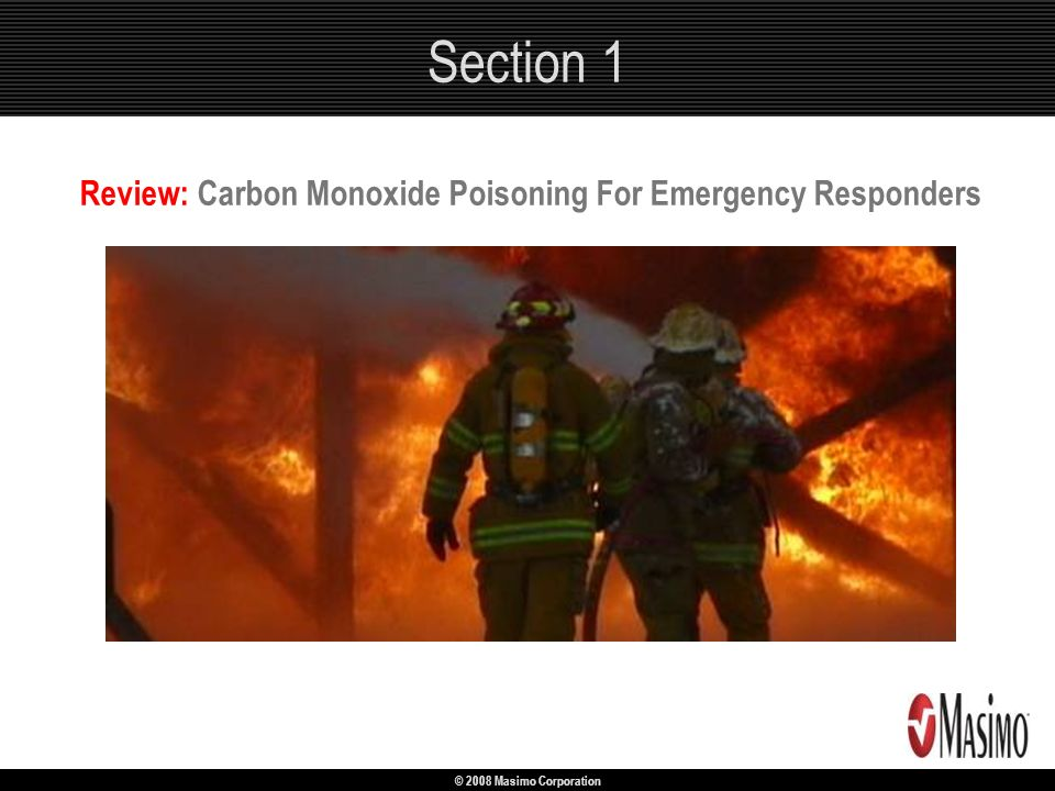Review: Carbon Monoxide Poisoning For Emergency Responders