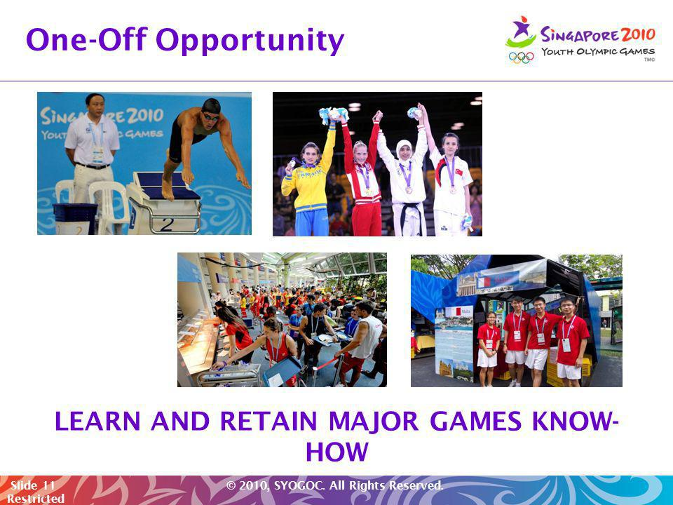LEARN AND RETAIN MAJOR GAMES KNOW-HOW