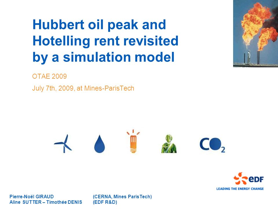 Hubbert oil peak and Hotelling rent revisited by a simulation model