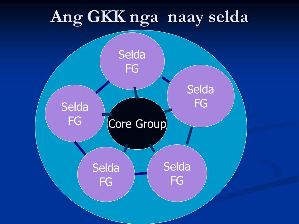 Ang GKK nga naay selda Selda FG Selda FG Selda FG Core Group Selda