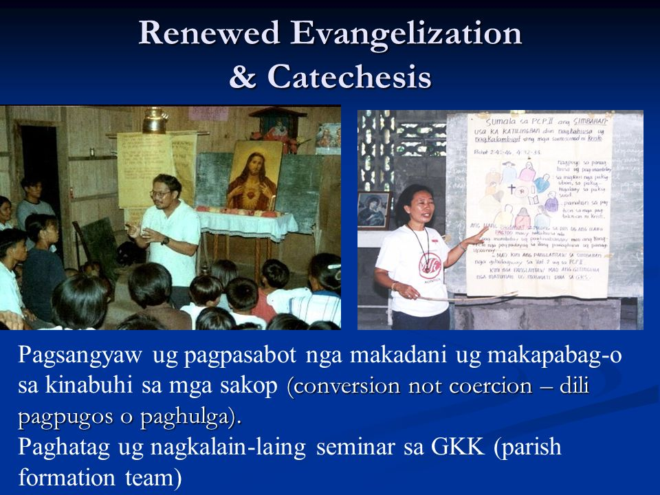 Renewed Evangelization & Catechesis