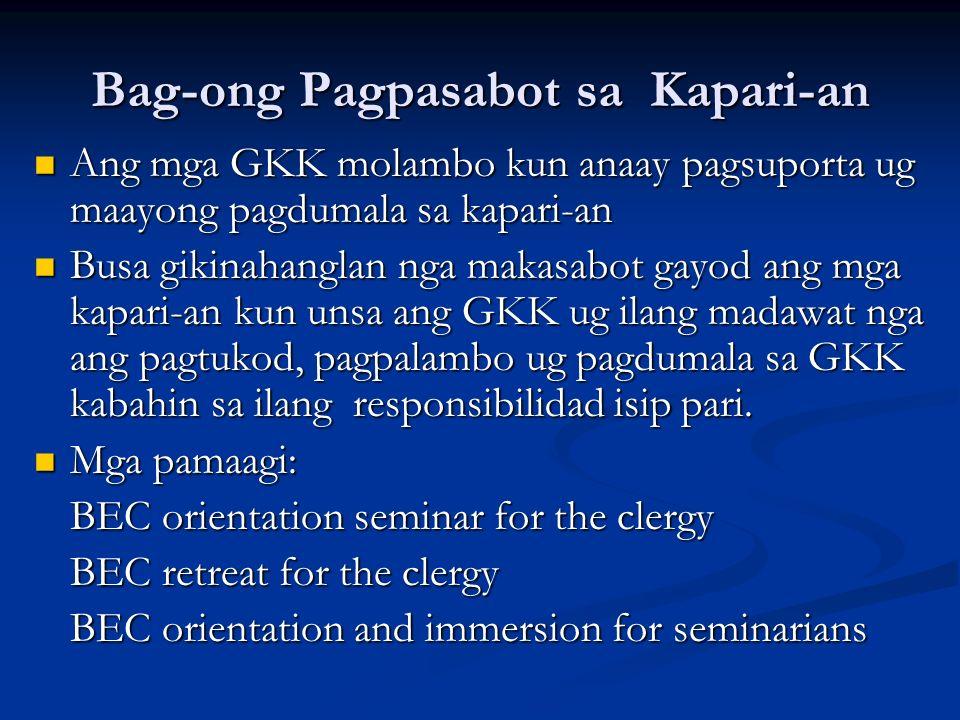 Bag-ong Pagpasabot sa Kapari-an