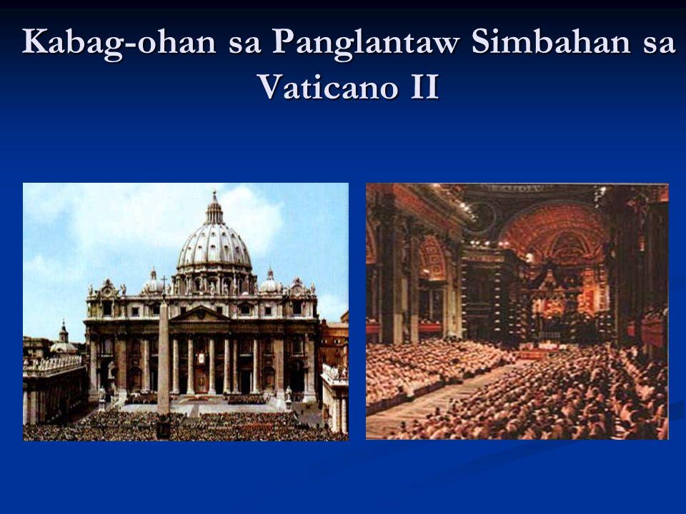 Kabag-ohan sa Panglantaw Simbahan sa Vaticano II