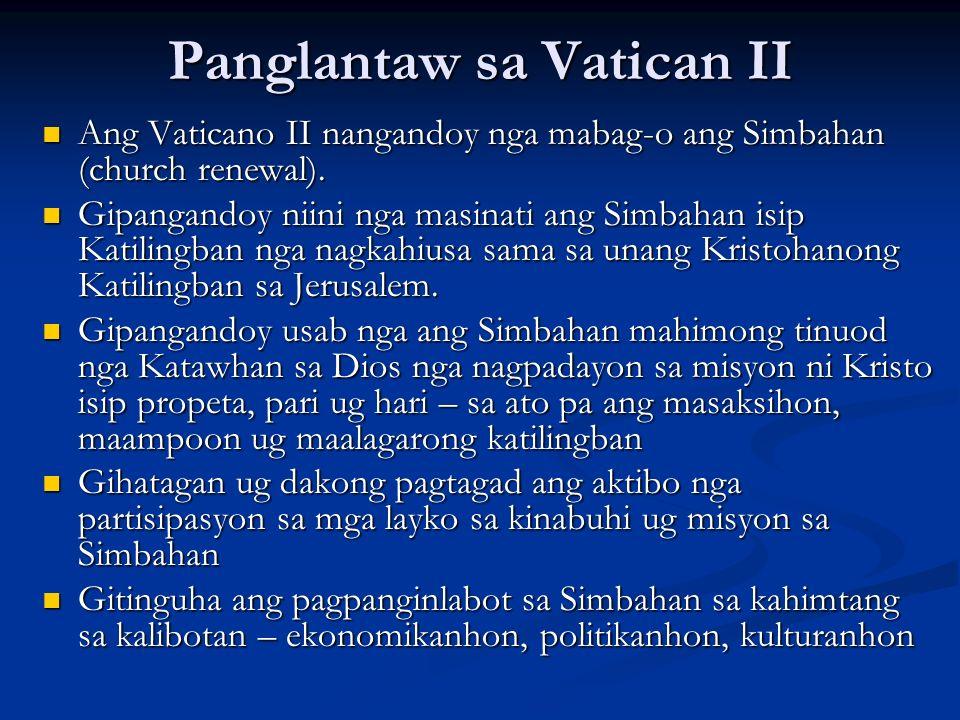 Panglantaw sa Vatican II