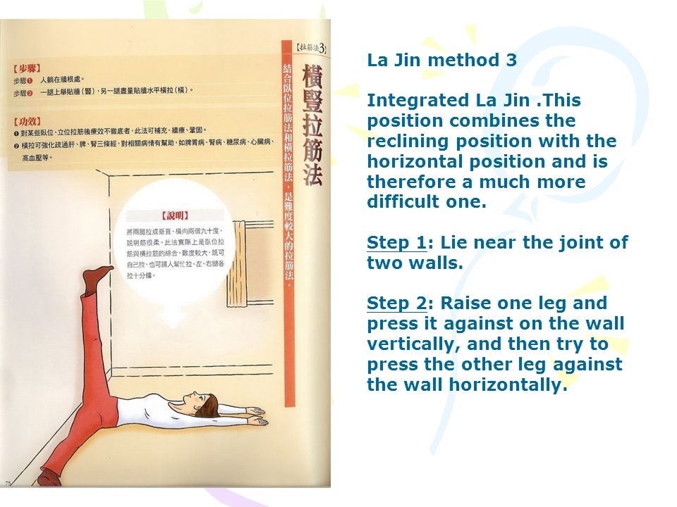 La Jin method 3