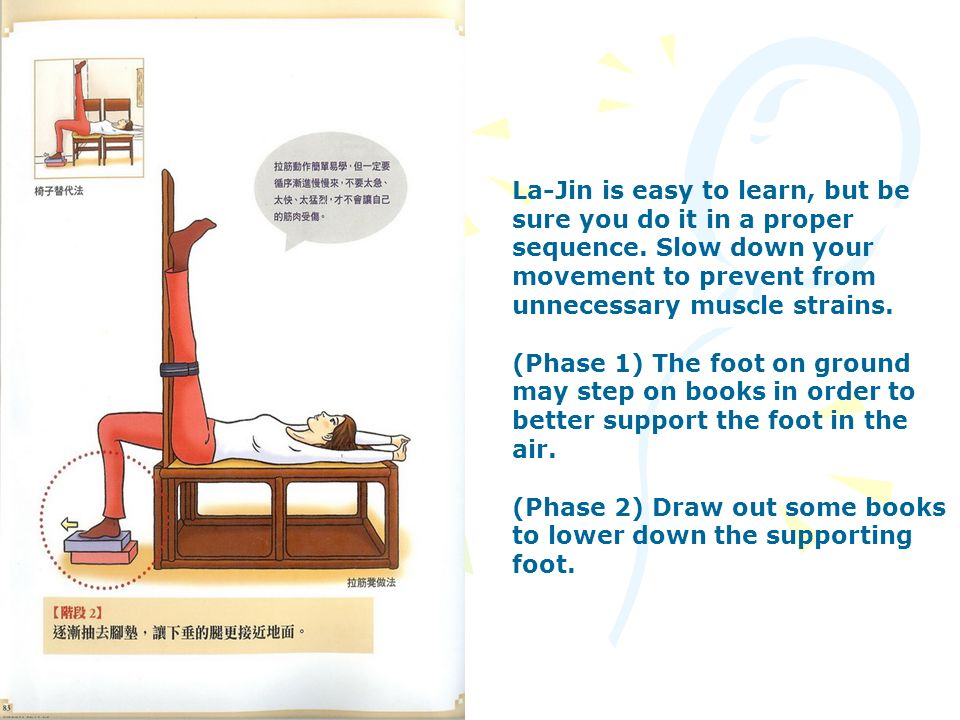 La-Jin is easy to learn, but be sure you do it in a proper sequence