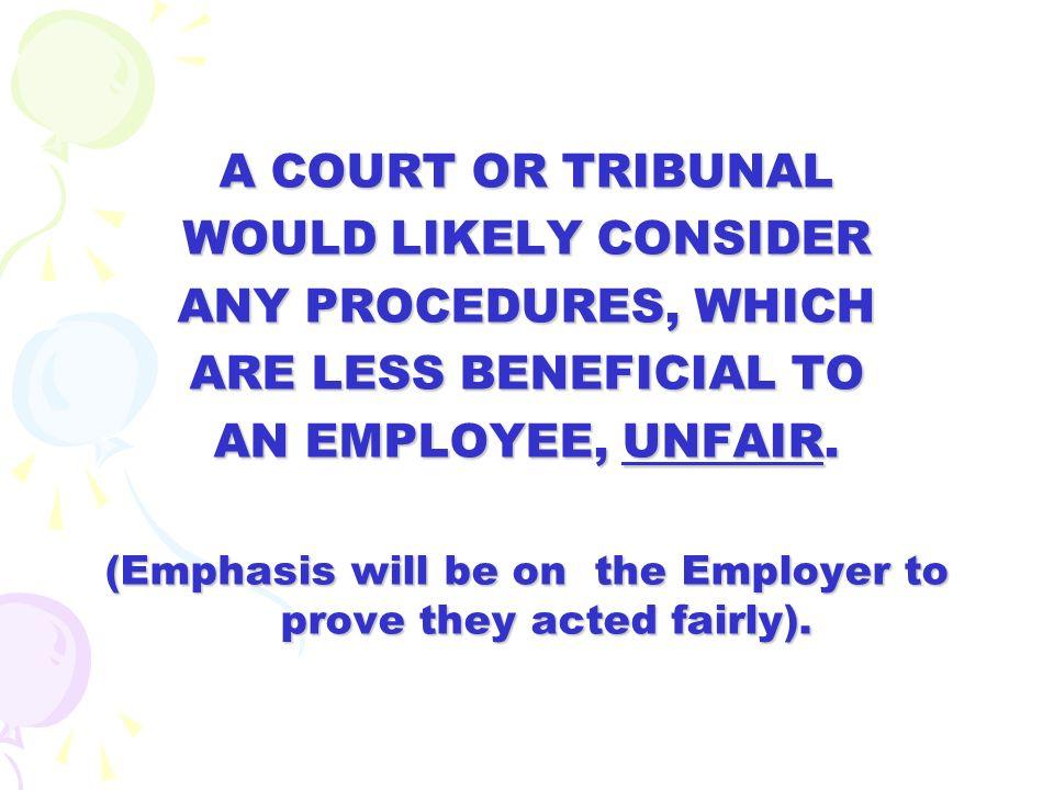 CONTENTS: 1. Principles of natural justice 2