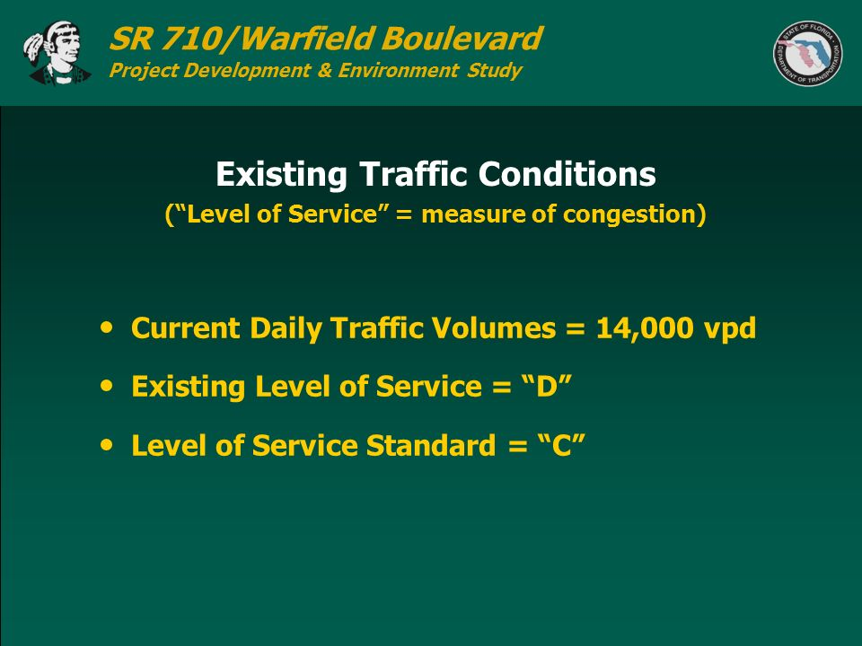 Existing Traffic Conditions
